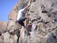 Rock Climbing Photo: Borson's Left