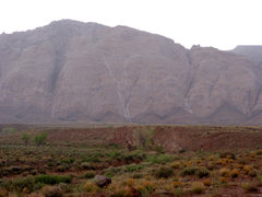 Rock Climbing Photo: Waterfalls on the San Rafael Reef after a strong t...