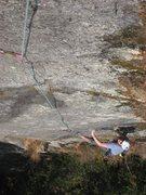 Rock Climbing Photo: Chris on Desperado