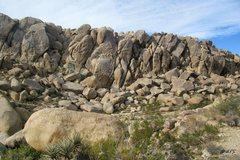 Rock Climbing Photo: Zebra Cliff East Face