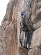 Rock Climbing Photo: New route On the For Real Wall