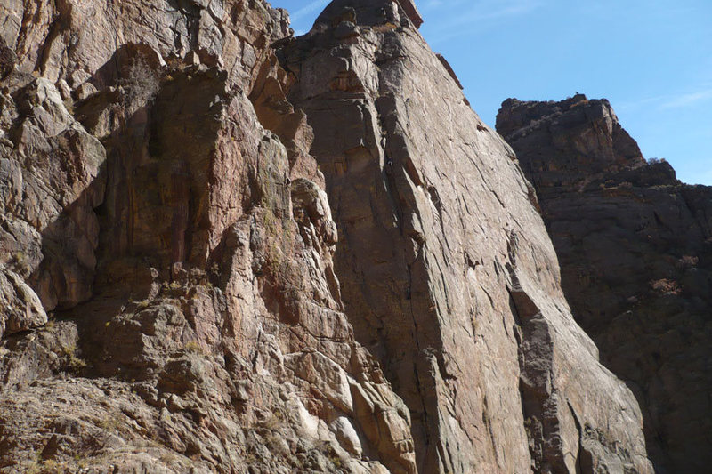 Rock Climbing Photo: Climbers from Montrose, taken on October 26th, 200...