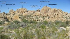 Rock Climbing Photo: Back loop overview picture
