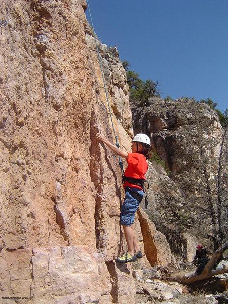 Rock Climbing Photo: ALY Starting.