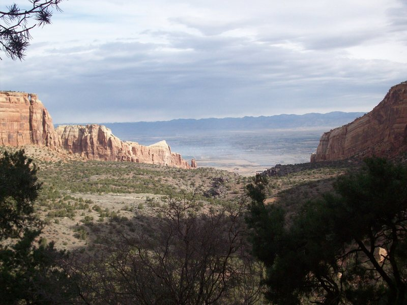 Colorado National Monument (photo taken from Otto's Route).