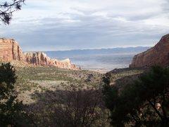 Rock Climbing Photo: Colorado National Monument (photo taken from Otto'...