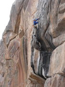 Rock Climbing Photo: Real Black Velvet, Dave Russell.