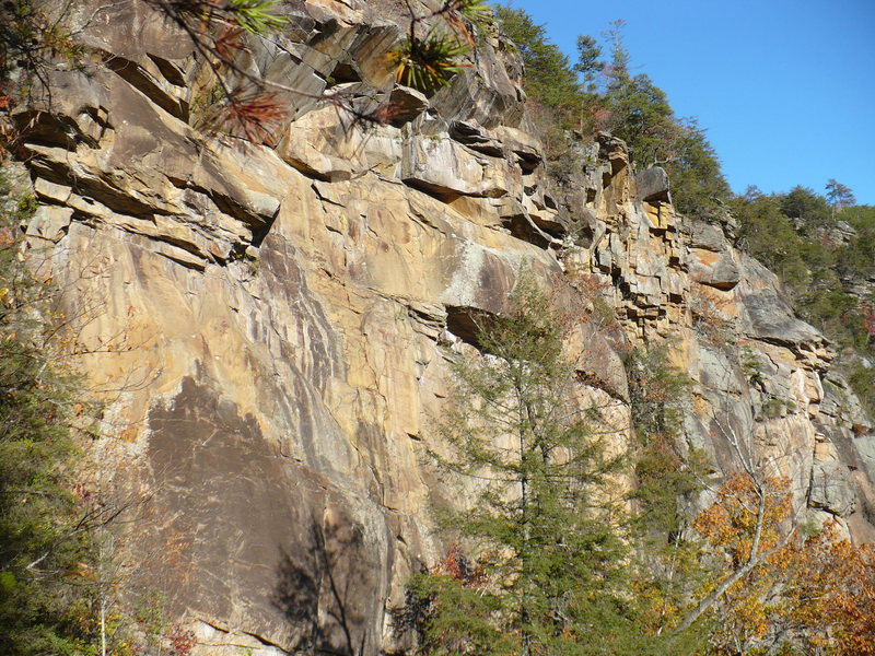 Fall on the Main Wall, Tallulah Gorge, GA