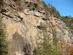 Rock Climbing Photo: Fall on the Main Wall, Tallulah Gorge, GA