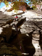 Rock Climbing Photo: Climbing one of the many options on The Diagonal, ...
