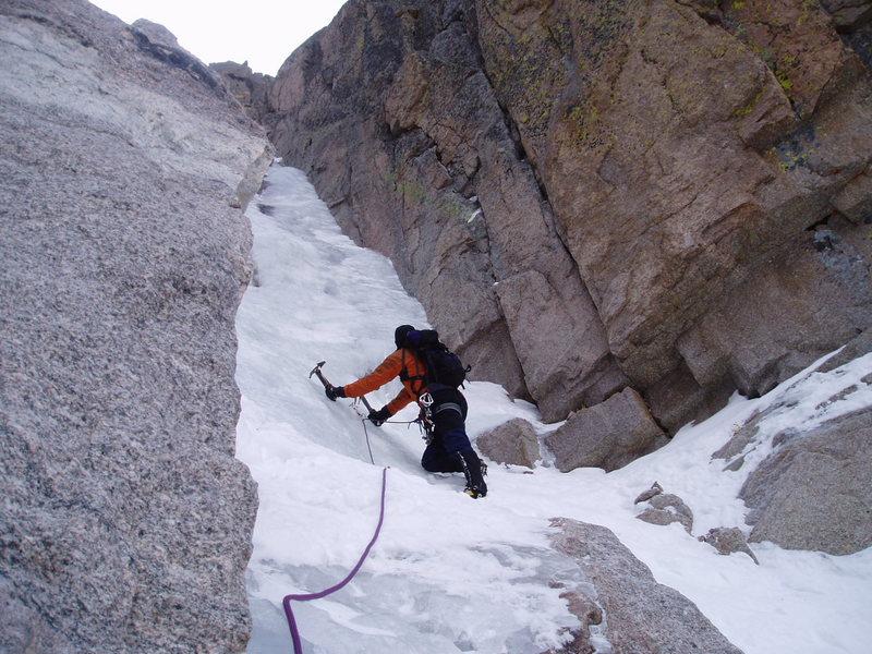 Rock Climbing Photo: Crux of