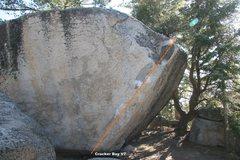 Rock Climbing Photo: Cracker Boy Topo