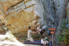 Rock Climbing Photo: Start of Easy Rider