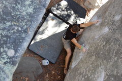 Rock Climbing Photo: Bradley K. on Slush Puppy.