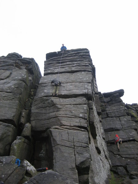 Rock Climbing Photo: High Neb Buttress