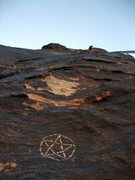 Rock Climbing Photo: Pauline's Pentacle