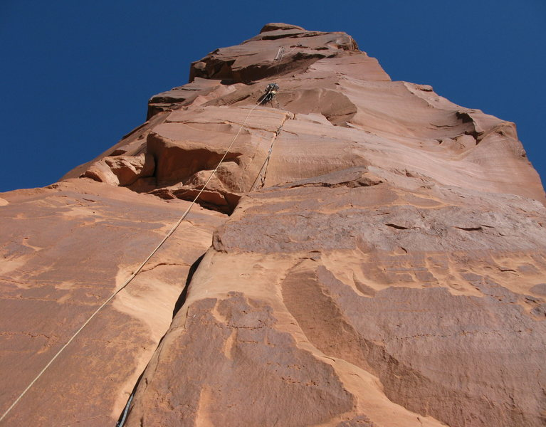 Eric near the top of pitch 2.