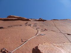 Rock Climbing Photo: On to the bolt ladder.