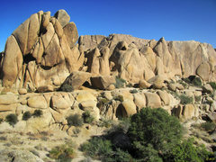 Rock Climbing Photo: Retirement Rock and Teepee Rocks