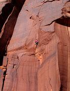 Rock Climbing Photo: Chris Trudeau was curious 11.9.08