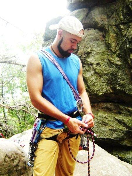 Rock Climbing Photo: The Alabama days. Circa 2008