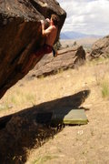 Rock Climbing Photo: Bouldering in the Okanogan Valley, Washington (200...