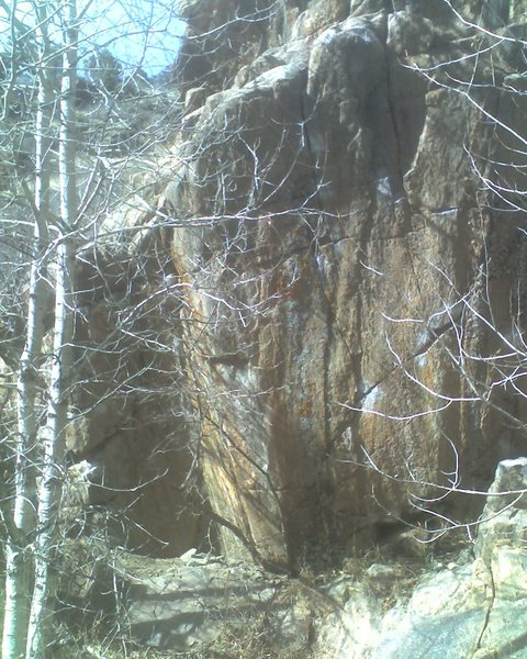 Rock Climbing Photo: Beta photo, the leftmost route.
