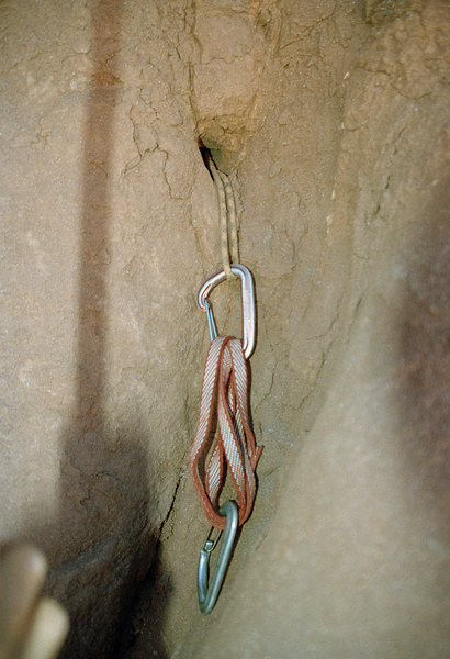 Rock Climbing Photo: Mystery protection on Phantom Sprint.  Anyone know...