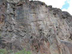 Rock Climbing Photo: Walls from Right to Left:  #4  Afterburner