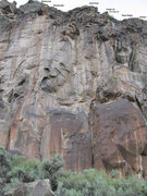 Rock Climbing Photo: Walls from right to left:#3  Gold Rush