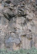 Rock Climbing Photo: #5 Monster Wall (Tombstone)