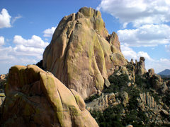 Rock Climbing Photo: rockfellow dome, cochise AZ