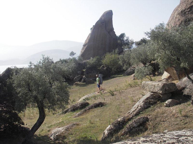 Rock Climbing Photo: wandering around, searching