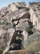 Rock Climbing Photo: we found some splitter trad lines across the way f...