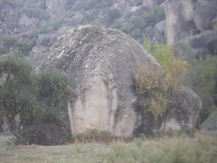 Rock Climbing Photo: another beautiful roadside boulder with yet anothe...