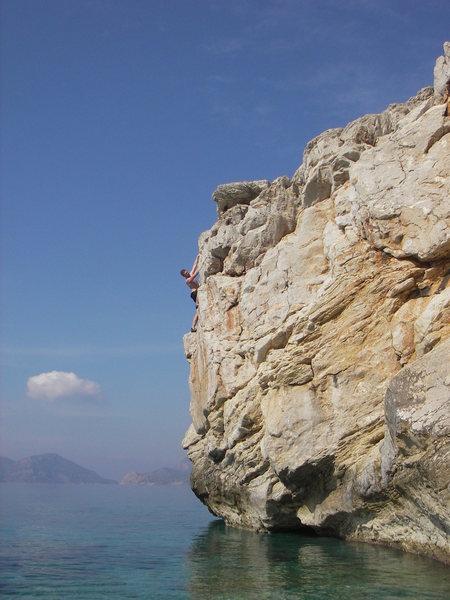 Rock Climbing Photo: off the same beach near Lykia World