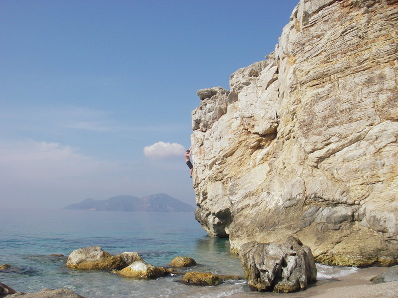 Rock Climbing Photo: Lykia World beach, there is some really good DWS a...