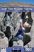 Rock Climbing Photo: table trail day flyer