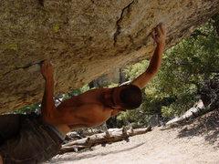 Rock Climbing Photo: Still working the Visor