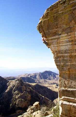 Rock Climbing Photo: Mt. Lemon...can't remember the name of this one, b...