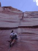 Rock Climbing Photo: Coyne Crack...Indian Creek
