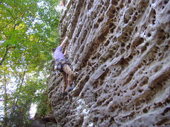 Rock Climbing Photo: Red River...a few years ago!