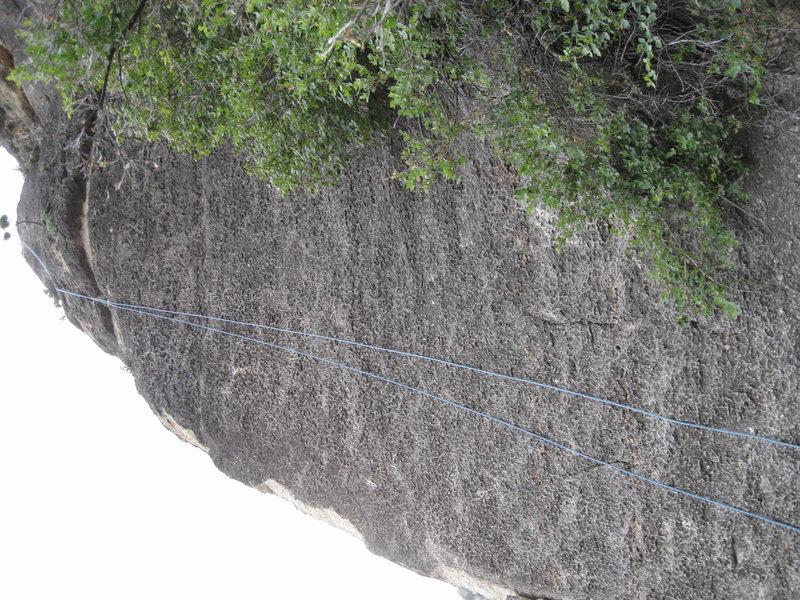 Rock Climbing Photo: White Knight