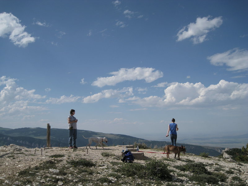 Rock Climbing Photo: Top of Steamboat. Awesome Views