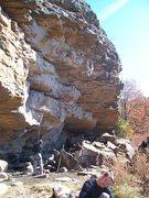 Rock Climbing Photo: Erik on Man Junk.