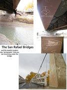 Rock Climbing Photo: The San Rafael Bridges and the tasteful graffiti u...
