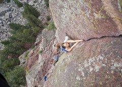 Rock Climbing Photo: Eldo Guide book photo shoot.  Star Wars