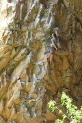 Rock Climbing Photo: Warm ups in Rifle.