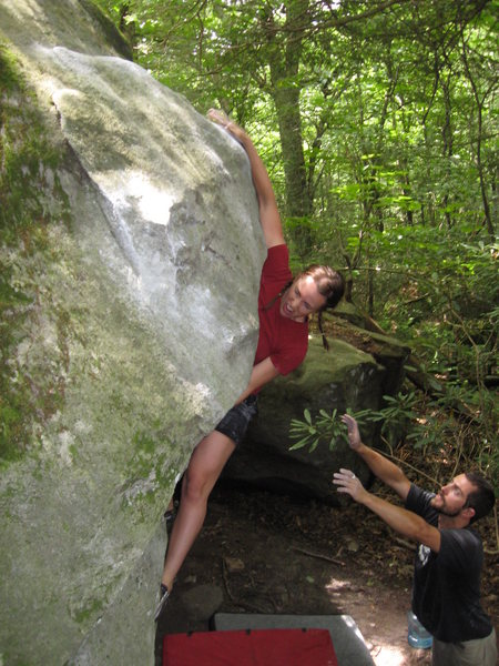 Bouldering in North Carolina