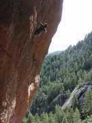 Rock Climbing Photo: Tony Yao on Slave to the Rhythm.